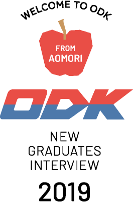 WELCOME TO ODK FROM AOMORI ODK NEW GRADUATESINTERVIEW 2019